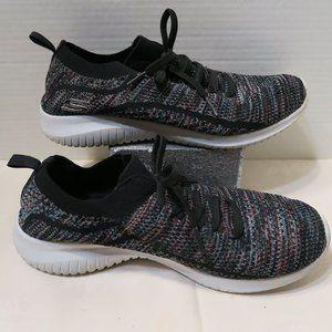 Skechers air cooled memory foam slip on sneakers